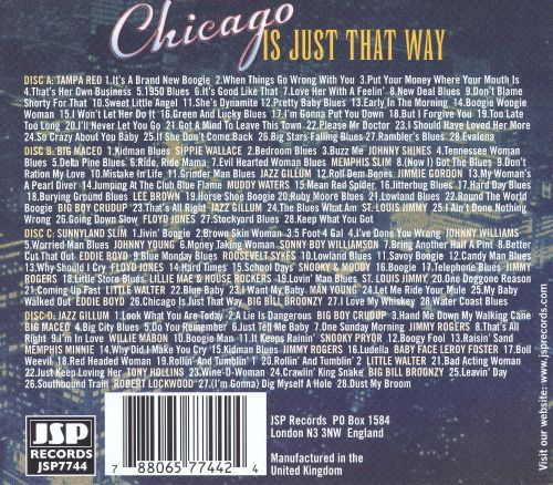 Chicago Is Just That Way [Box Set]