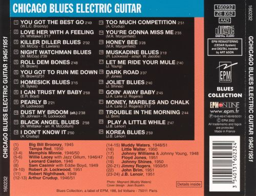 1945-1951 Chicago Blues Electric Guitar