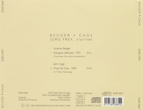 Beuger/Cage