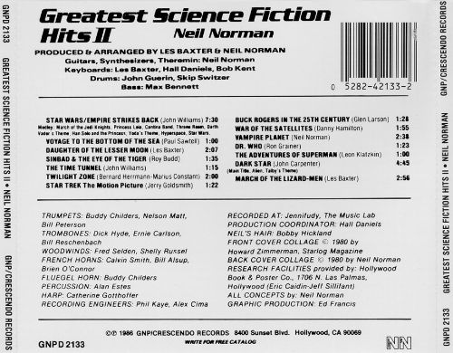 Greatest Science Fiction Hits, Vol. 2