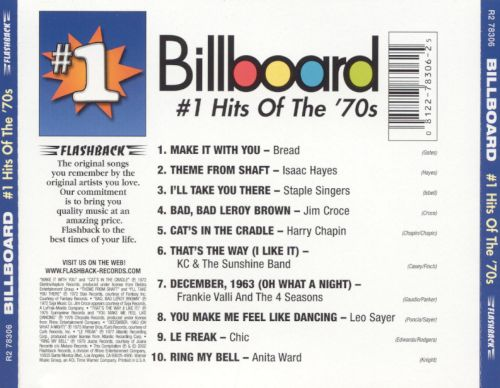 The Billboard Top 100 Songs of the 1970's - YouTube