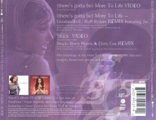 (There's Gotta Be) More to Life/Stuck [DVD] [Single]