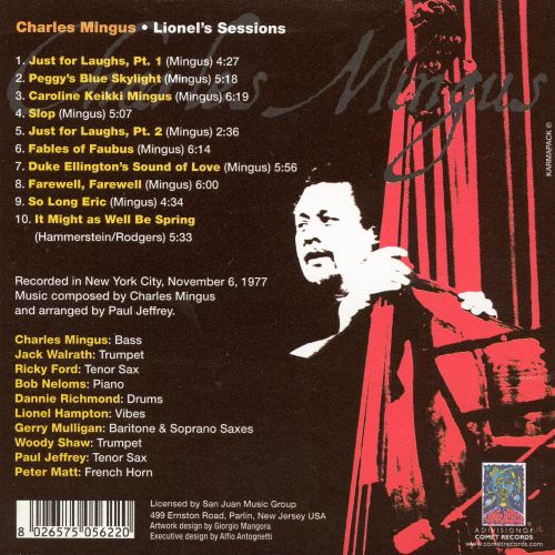 Lionel's Sessions
