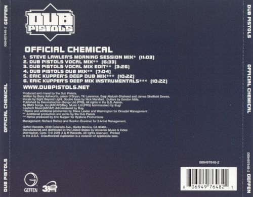 Official Chemical [US CD]