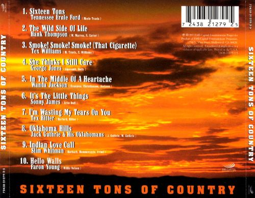 Sixteen Tons of Country
