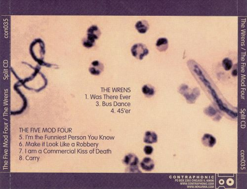 The Wrens/The Five Mod Four [Split CD]