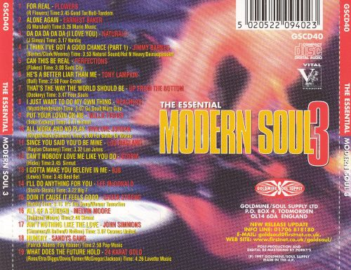 Essential Modern Soul, Vol. 3