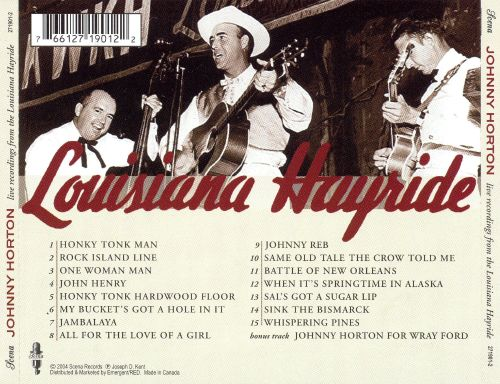 Live Recordings from the Louisiana Hayride