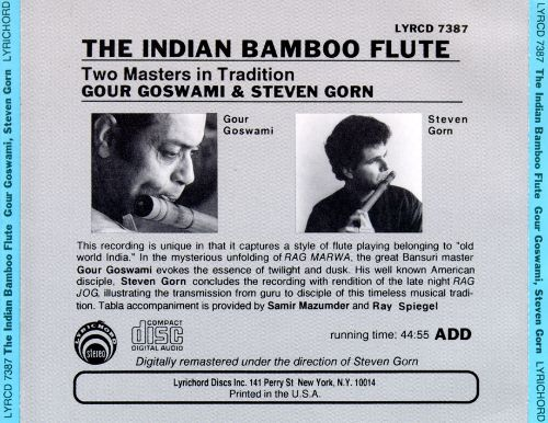 Indian Bamboo Flute