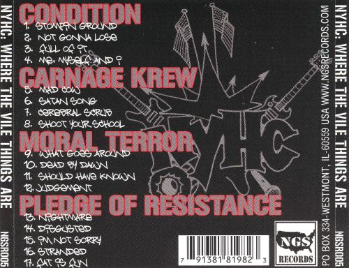 NYHC: Where the Vile Things Grow
