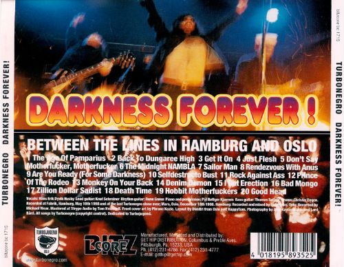 Darkness Forever! Between the Lines in Hamburg and Oslo!