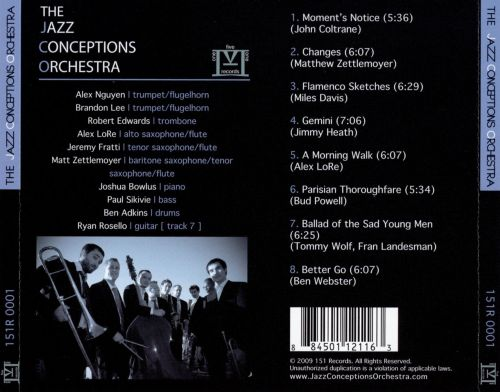 The Jazz Conceptions Orchestra