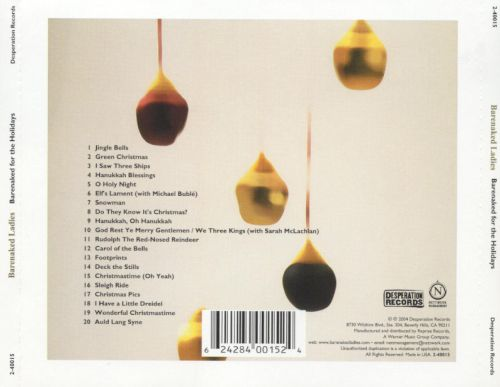 from Cade bare naked ladies christmas album