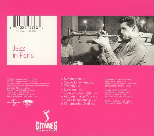 Jazz in Paris: Chet Baker Quartet Plays Standards