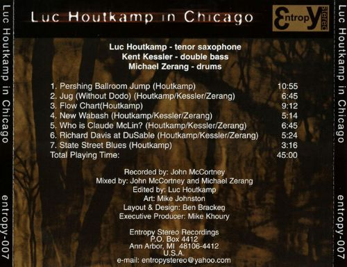 Luc Houtkamp in Chicago