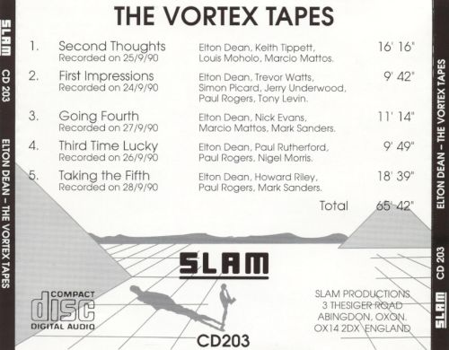 The Vortex Tapes