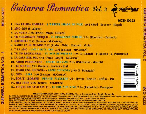 Guitarra Romantica, Vol. 2