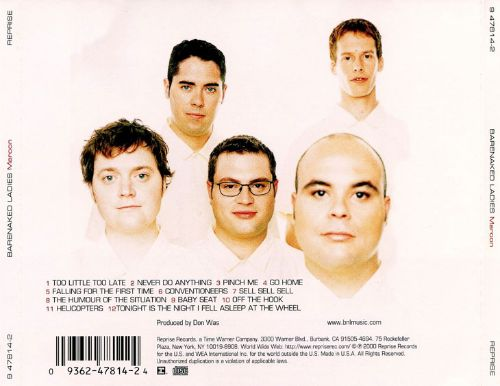 Bare naked ladies albums you