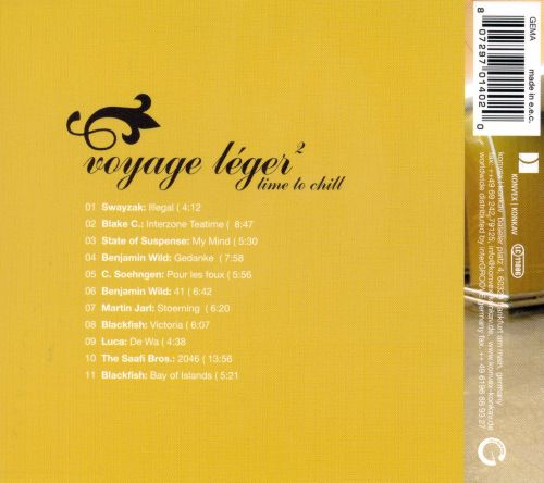 Voyage Leger, Vol. 2: Time to Chill