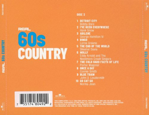 Real 60's Country [Disc 2]
