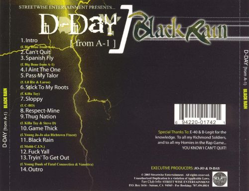 D-Day from A-1: Black Rain
