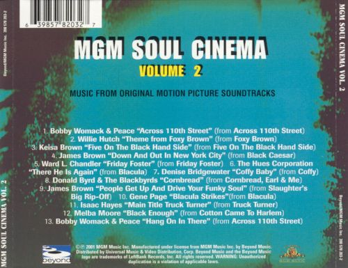 MGM Soul Cinema, Vol. 2