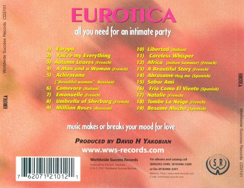 Eurotica: The Sounds of Love