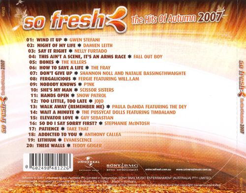 So Fresh: The Hits of Autumn 2007