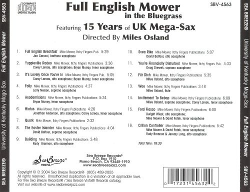 Full English Mower in the Bluegrass