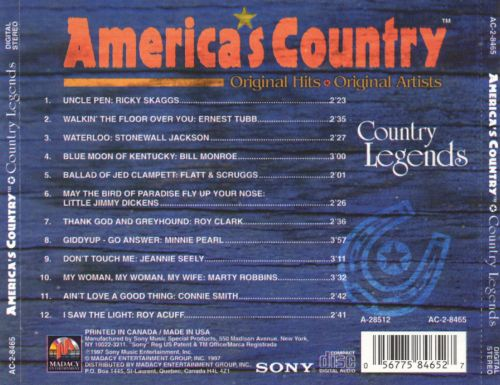 America's Country: Country Legends