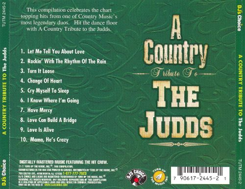 DJ: A Country Music Tribute to the Judds