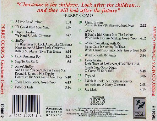 Christmas Concert: Live in Concert 1993