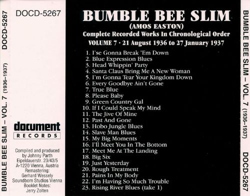 Complete Recorded Works, Vol. 7: (1936-1937)