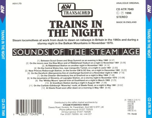 Trains in the Night