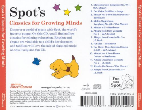 Spot's Classics for Growing Minds