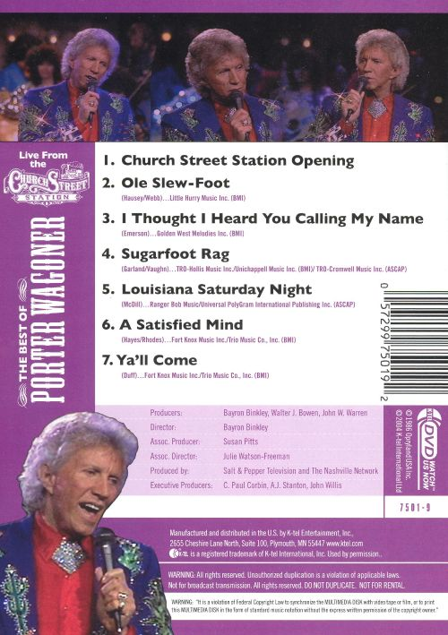 Best of Porter Wagoner [DVD]