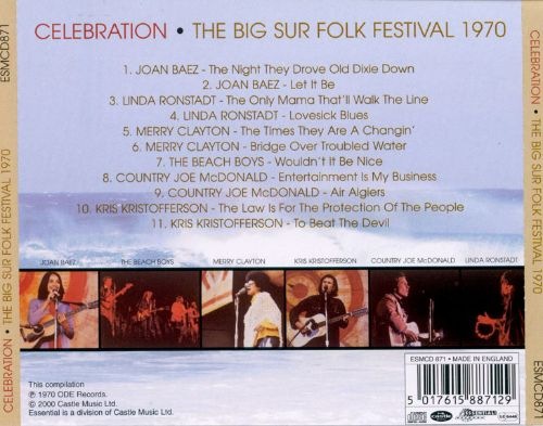 Celebration: Live at Big Sur