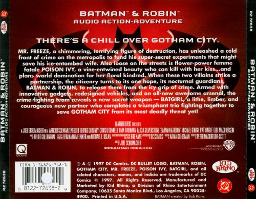 Batman & Robin: Audio Action Adventure