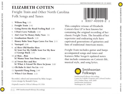 Freight Train and Other North Carolina Folk Songs