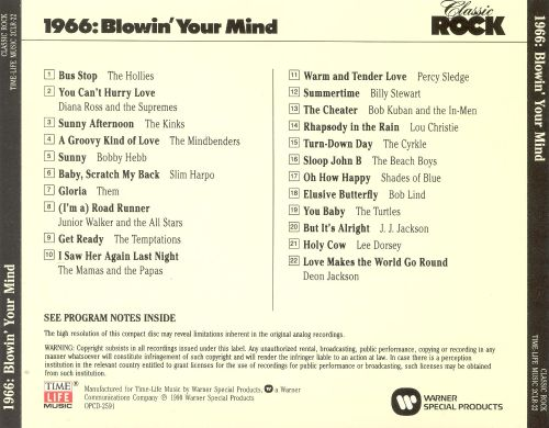 Classic Rock: 1966 - Blowin' Your Mind