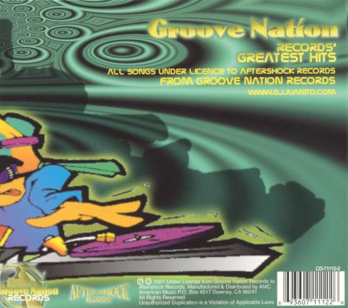 Groove Nation Records Greatest Hits