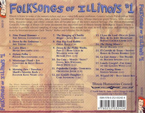 Folksongs of Illinois #1