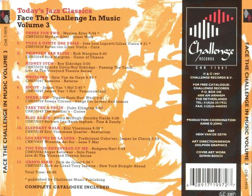 Face the Challenge in Music, Vol. 3