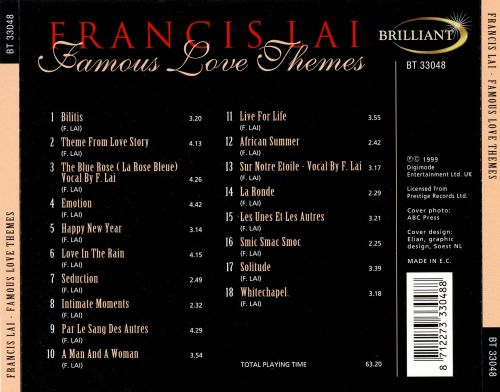 Famous Love Themes