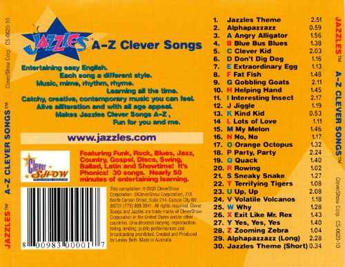 Jazzles: A-Z Clever Songs