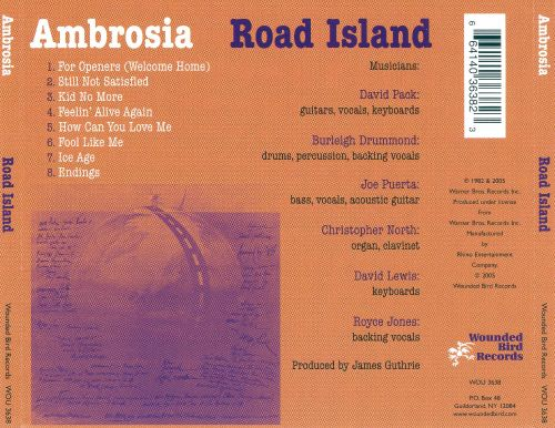 Road Island - Ambrosia | Songs, Reviews, Credits | AllMusic
