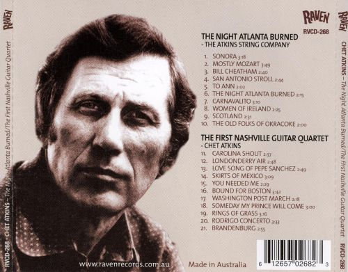 The Night Atlanta Burned/The First Nashville Guitar Quartet