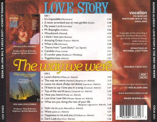 Love Story/The Way We Were