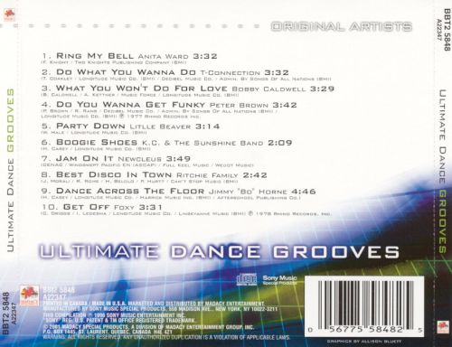Ultimate Dance Grooves [Madacy]