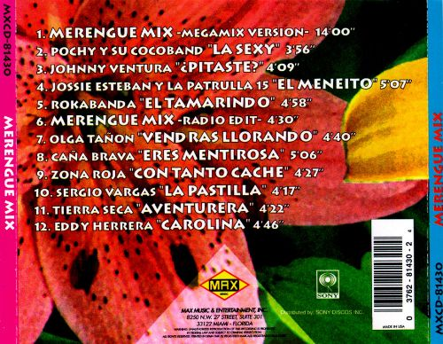 Merengue Mix [Sony Discos]